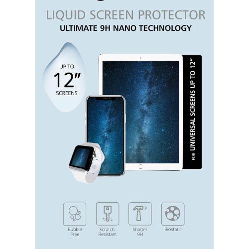 """GEAR Skärmskydd Nano Liquid Universal upp till 12"""""""