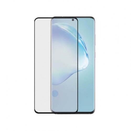 GEAR Härdat Glas 3D Full Cover Black Samsung S20 Ultra