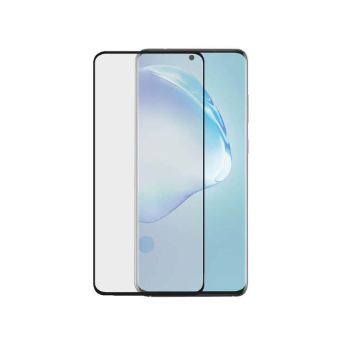 GEAR Härdat Glas 3D Full Cover Black Samsung S20