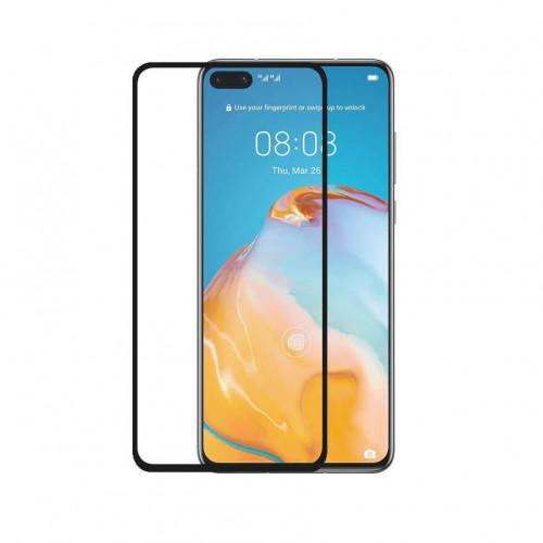 GEAR Härdat Glas 3D Full Cover Black Huawei P40
