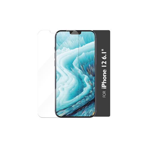 GEAR Härdat Glas 2,5D Full Cover Clear Iphone 12  / 12 Pro  Incl. Monteringsram