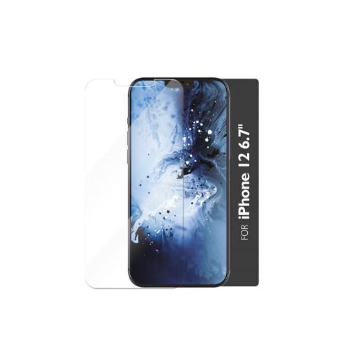 GEAR Härdat Glas 2,5D Full Cover Clear Iphone 12  Pro Max  Incl. Monteringsram