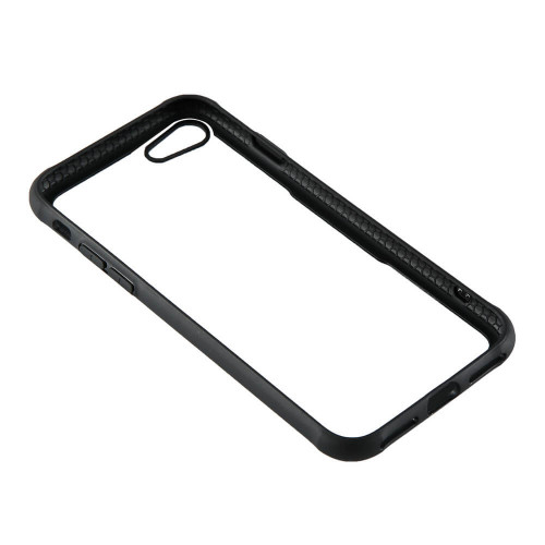 GEAR Mobilskal med Tempererat Glas Svart iPhone 7/8/SE
