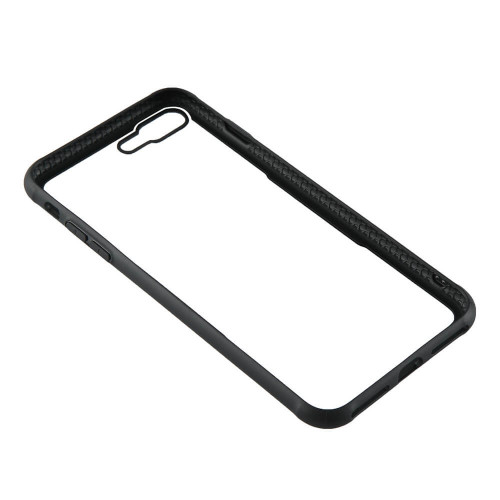 GEAR Mobilskal med Tempererat Glas Svart iPhone 7/8 Plus