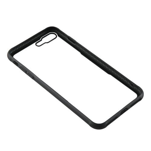 GEAR Mobilskal med Tempererat Glas Svart iPhone 7/8 Plus