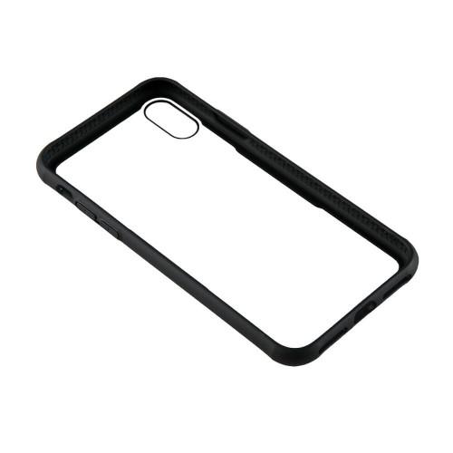 GEAR Mobilskal med Tempererat Glas Svart iPhone X/Xs