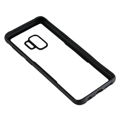 GEAR Mobilskal med Tempererat Glas Svart Samsung S9