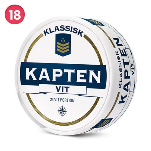 Kapten Vit Portion 10-pack