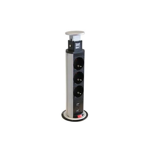 Smartline Pop up socket tower