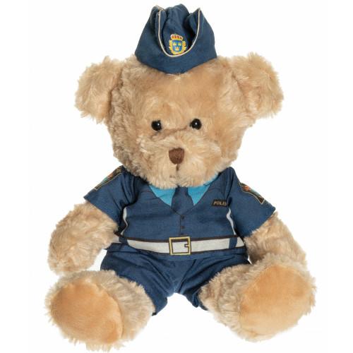 Teddykompaniet Polisnalle Lage