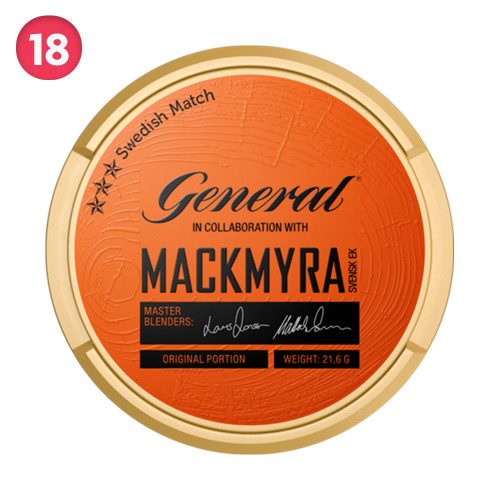 General Mackmyra Original Portion 10-pack