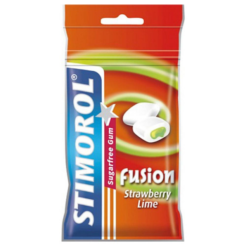 Stimorol Tuggummi Fusion Strawberry/Lime