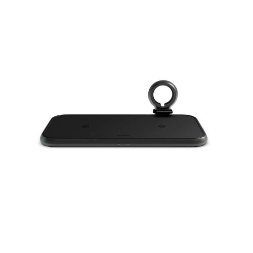 ZENS 4in1 Dual Alu. Laddare QI 220V-Sladd 2x10W + 45W PD + Plats för Apple Watch Puck