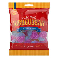 Candy People Sura Mini Jordgubbar Vegan 80g