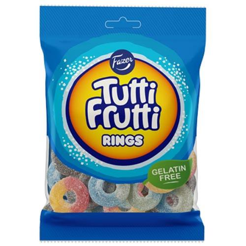 Fazer Tutti Frutti Rings 120g