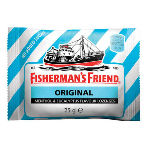 FISHERMAN'S FRIEND Sockerfri Original 25g