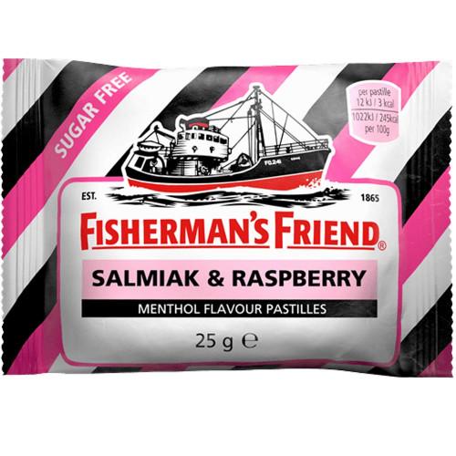 FISHERMAN'S FRIEND Sockerfri Salmiak & Raspberry 25g