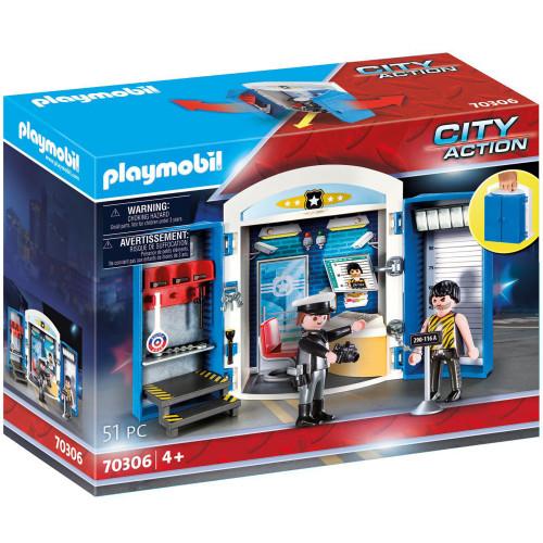 Playmobil Leklåda - På polisstationen