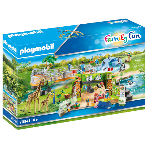 Playmobil Zoo - Mitt stora upplevelsezoo