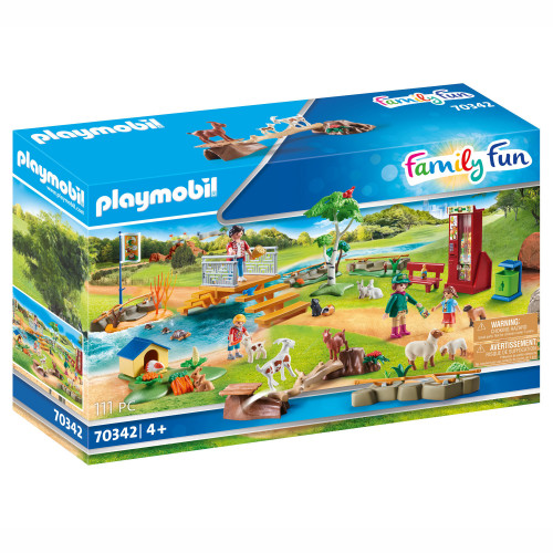 Playmobil Zoo - Klappa djuren upplevelse