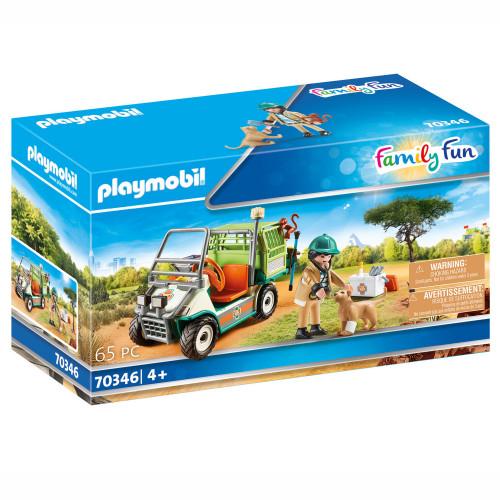 Playmobil Zoo - Zooveterinär med fordon