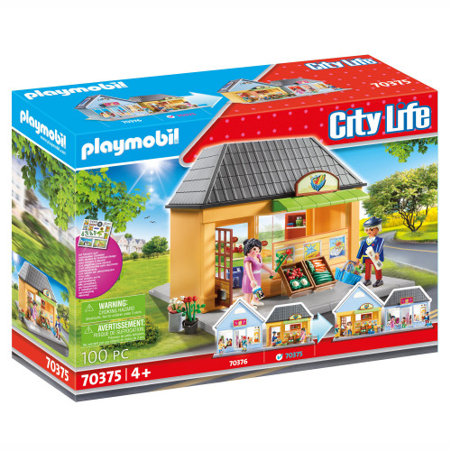 Playmobil City Life - Min livsmedelsbuti
