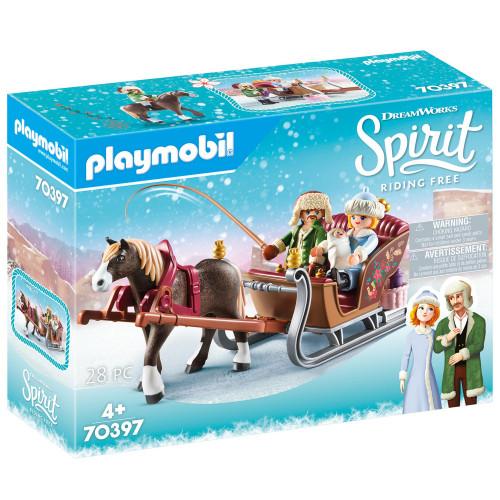 Playmobil Spirit - Vinterslädtur