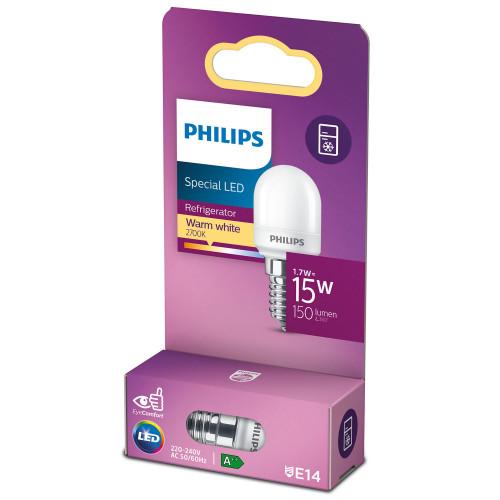 Philips LED E14 Kylskåp T25 Päron 15W
