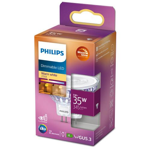 Philips LED GU5.3 Spot 35W 12V Dimbar