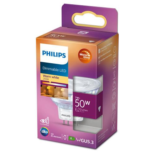 Philips LED GU5.3 Spot 50W 12V Dimbar