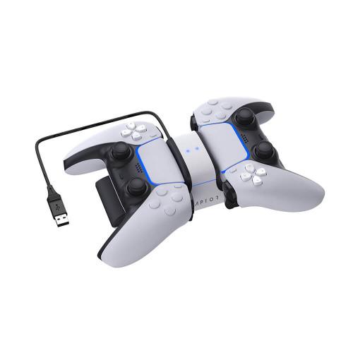 RAPTOR Laddare för Handkontroll Dual PS5