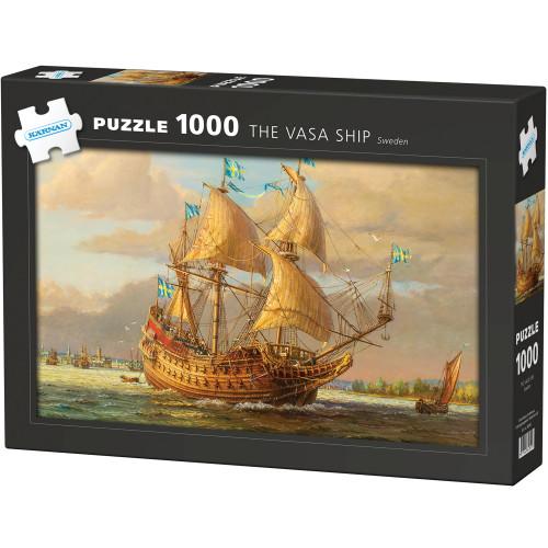 Kärnan Pussel Skeppet Vasa 1000 bit
