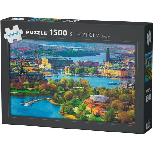 Kärnan Pussel Stockholm 1500 bit