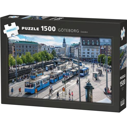 Kärnan Pussel Göteborg 1500 bit