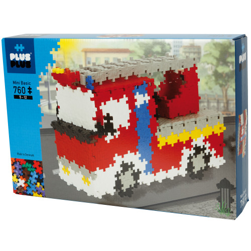 Plus-Plus Basic Fire Truck / 760 pcs