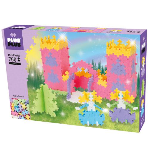 Plus-Plus Pastel Castle & Princess / 760