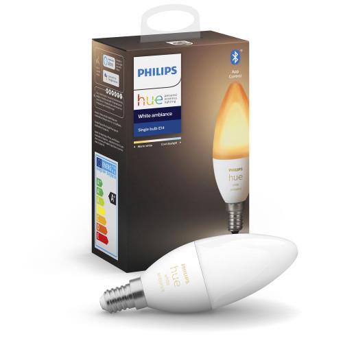 Philips Hue White Ambiance E14 Kron 1-