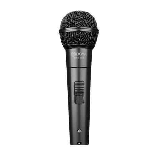 BOYA Mikrofon Handhållen BY-BM58 Dynamisk XLR 5m