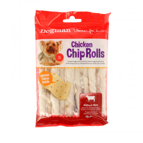 DOGMAN Chicken Chip Roll m kyck 10p