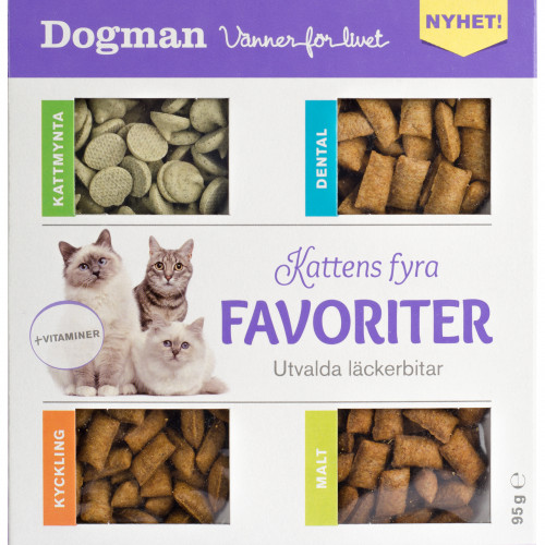 DOGMAN Kattens fyra favoriter