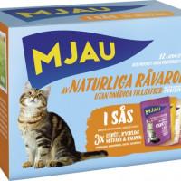MJAU Bitar i Sås med Kött Mix