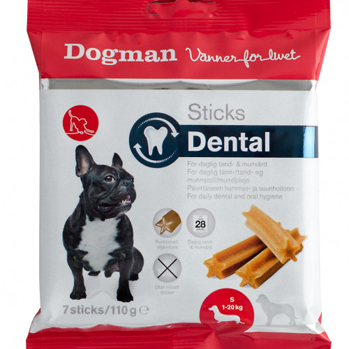 DOGMAN Sticks Dental 7p