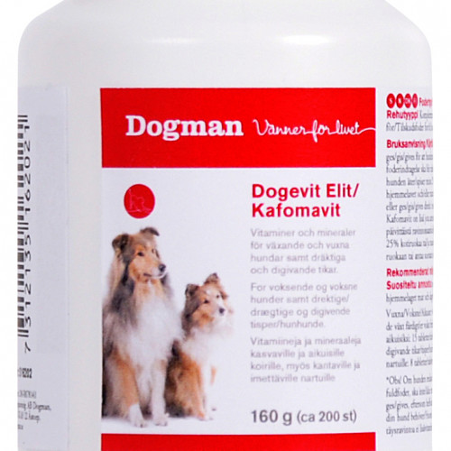 DOGMAN Dogevit Elit Kafomavit