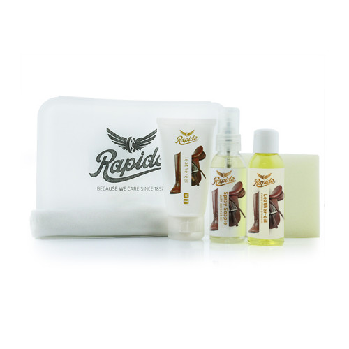 RAPIDE Saddle o leathercare kit