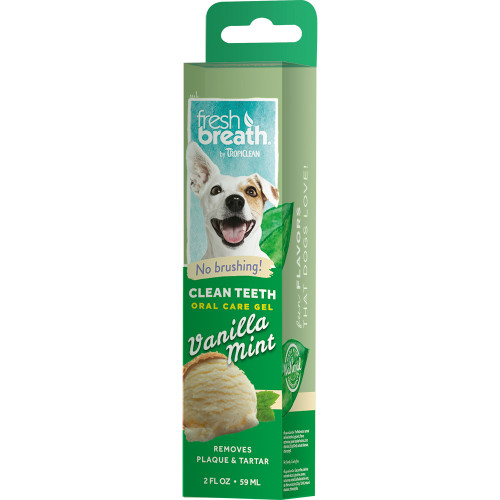 TROPICLEAN Oral Care Gel Vanilla Mint