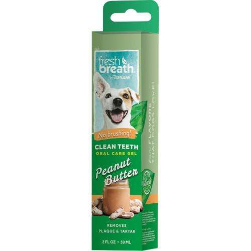 TROPICLEAN Oral Care Gel Peanut Butter