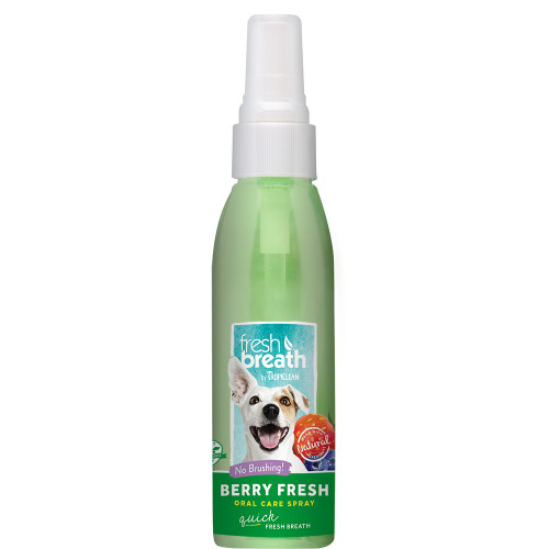 TROPICLEAN Oral Care Spray Berry Fresh