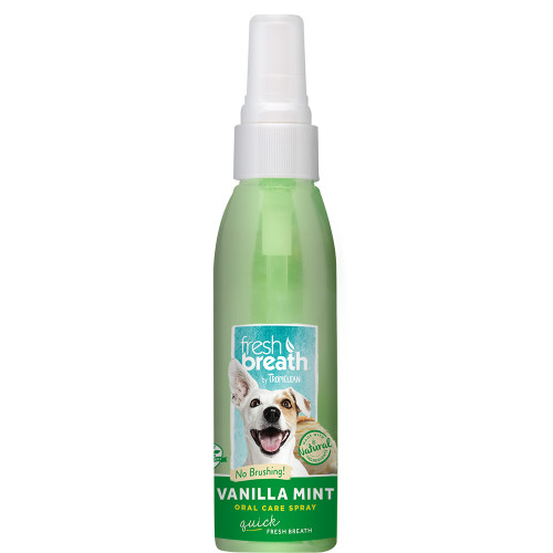TROPICLEAN OralCare Spray Vanilj+Mint
