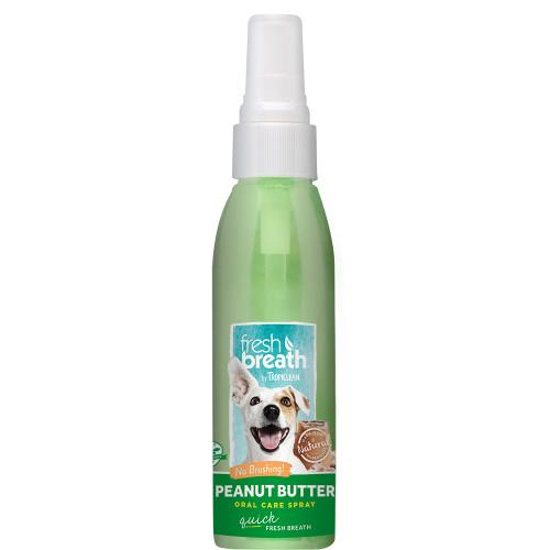 TROPICLEAN Oral Care Spray Peanut Butter