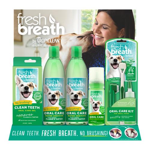 TROPICLEAN Fresh Breath Starter Display